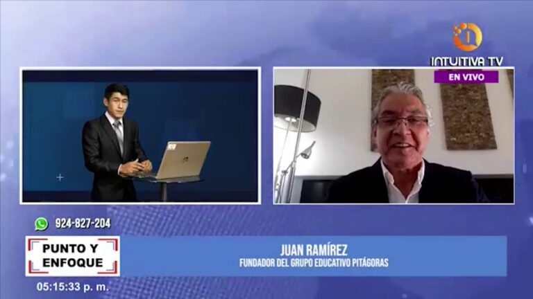 Entrevista a Juan Ramírez fundador del Grupo Educativo Pitágoras